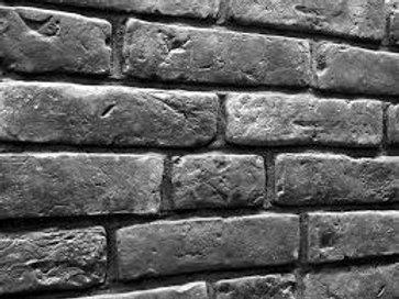 Black Old-Fashion Brick, $4.99 per sq. ft., Box 3.23 sq.ft.