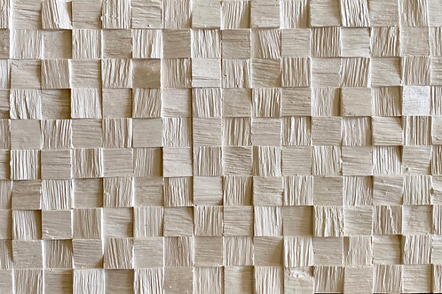 """Sample 3D Wall Decorative Panel """"Wood Section"""""""