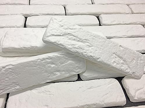 White Old-Fashion Brick Tile, $3.99 per sq. ft., Box 3.23 sq.ft.