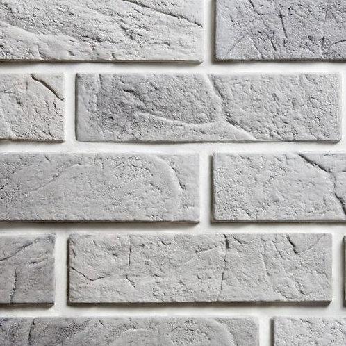 Thin Grey/Ash Venice Brick, $4.38 per sq. ft., Box 3.88 sq.ft.
