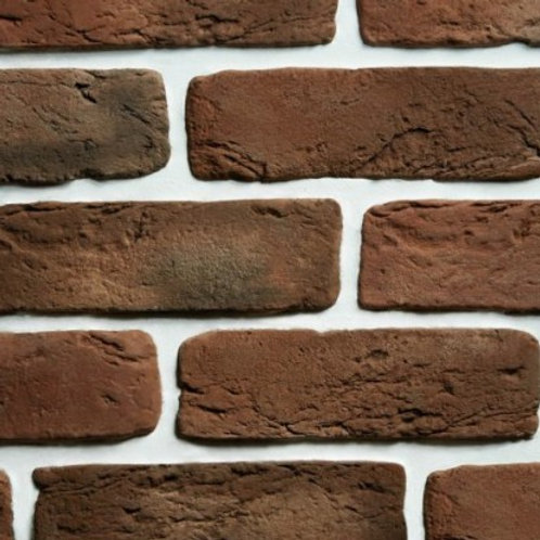 Brown Old-Fashion Brick Tile, $4.34 per sq. ft., Box 3.23 sq.ft.