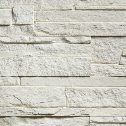 Sample White Lamellar Stone Slate