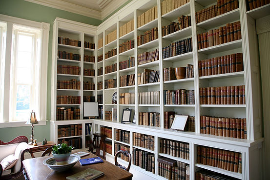 Library Room with Books