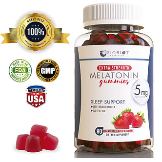 Melatonin Gummy Supplement For Restful sleep – All Natural Melatonin Gummies