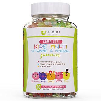Advanced Biobiot Multivitamin Gummies for Kids - Gummy Bears for Children