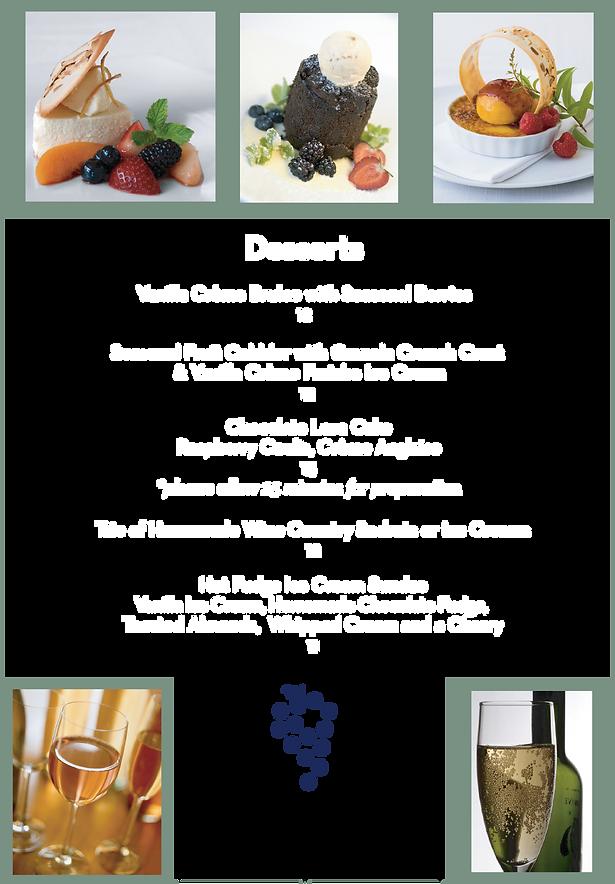 Dessert Menu June 2020 Covid19 white Fon