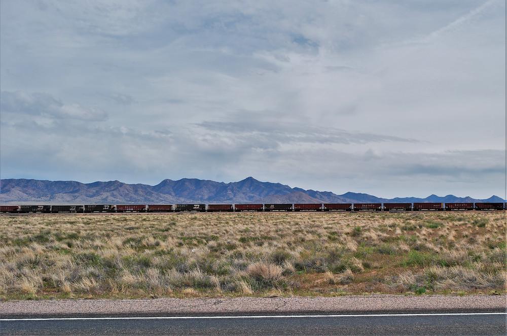 route 66-désert