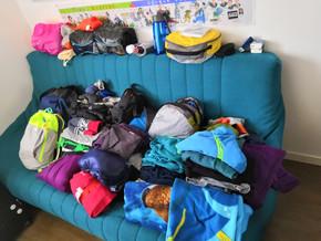 Le contenu des bagages de notre famille en voyage autour du monde | La liste définitive