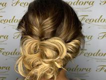 Wedding Hair, blonde up