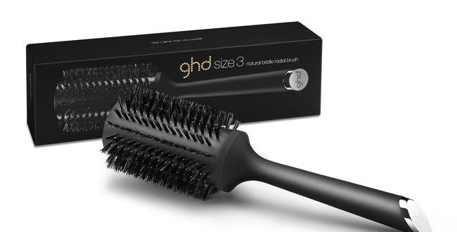 GHD Natural Bristle Radial Brush Size 3