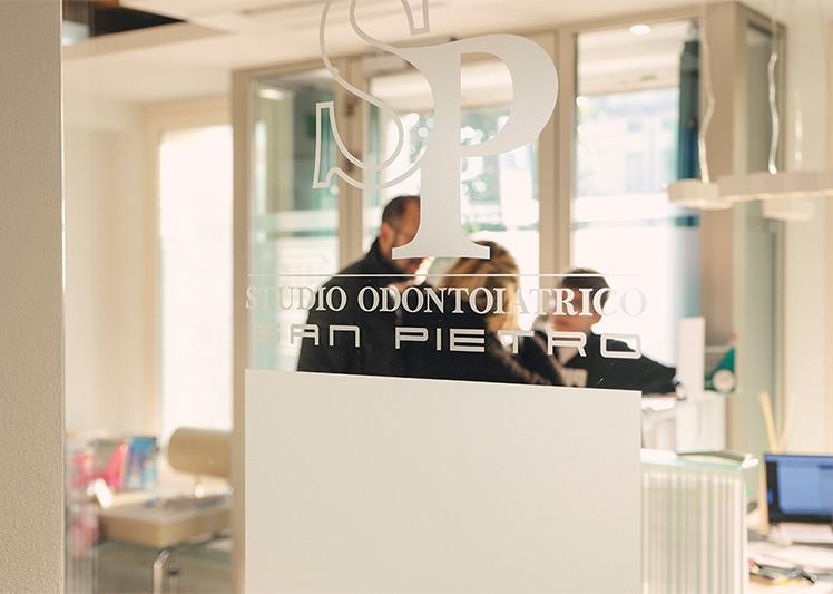 Studio Odontoiatrico San Pietro sala d'a