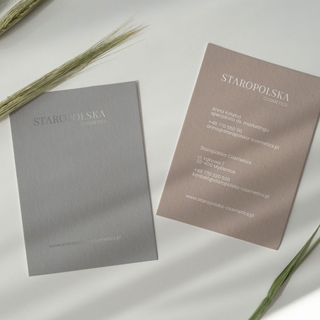 Staropolska Cosmetics Branding