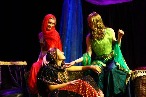 Scenes from Arabian Nights