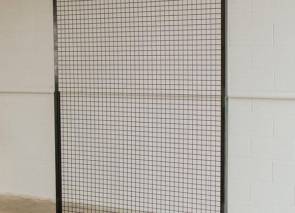 Black Grid Screen