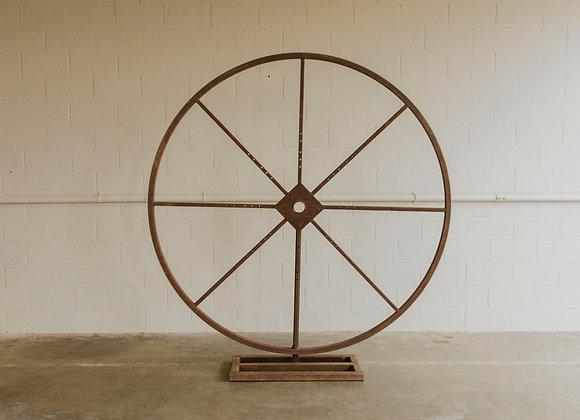 Large Wheel Backdrop
