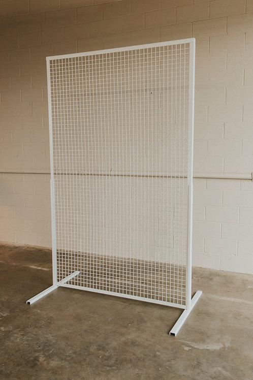 White Grid Screen