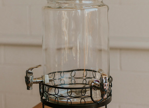 Vintage Dispenser with Stand