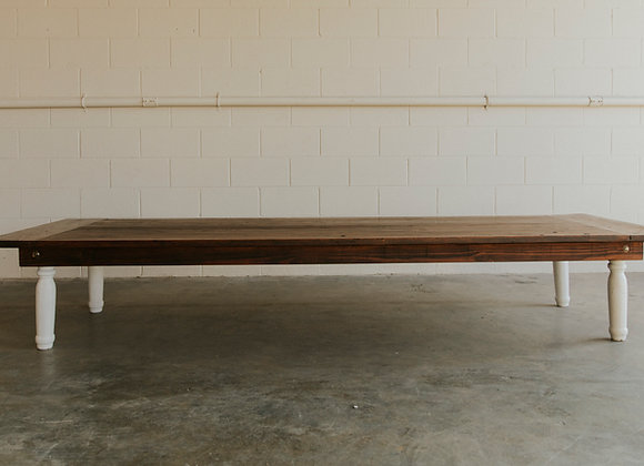 Low Long Harvest Table