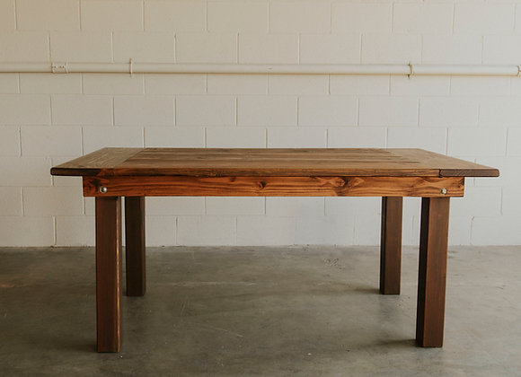 Sweetheart Harvest Table - Wood Leg
