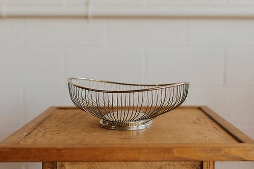 Mod Silver Bowl