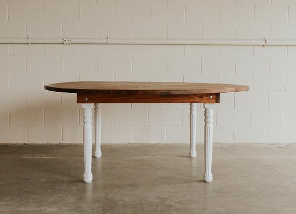 Round Harvest Table