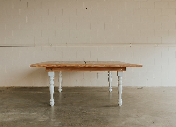 Square Harvest Table