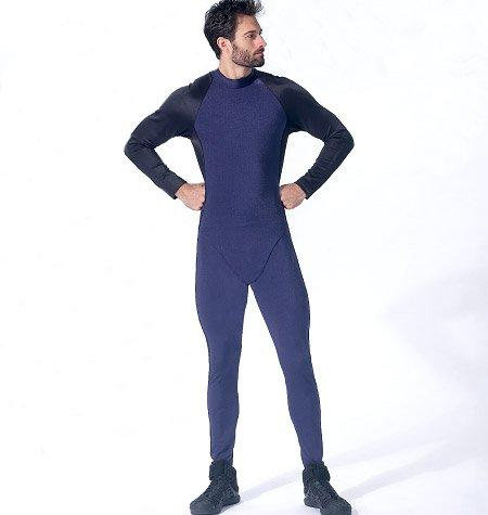 Men's Bodysuit Pattern by Yaya Han (Autographed)