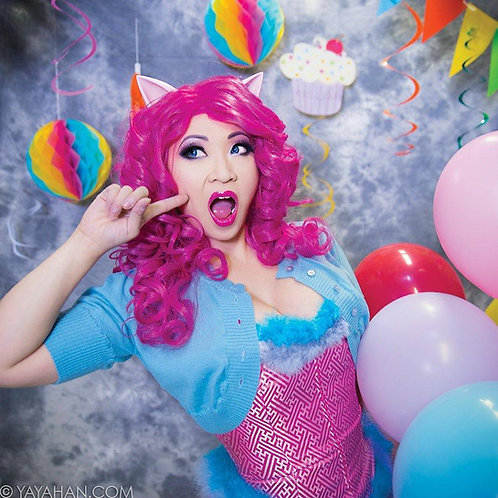 Party Pink Wig