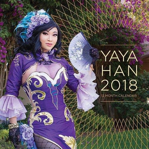 2018 Yaya Han Calendar (Previous year)