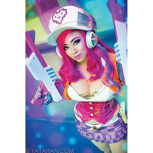 Signed Poster/Print - Arcade Miss Fortune