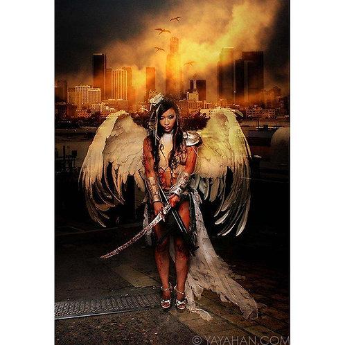 Signed Print - Battle Angel