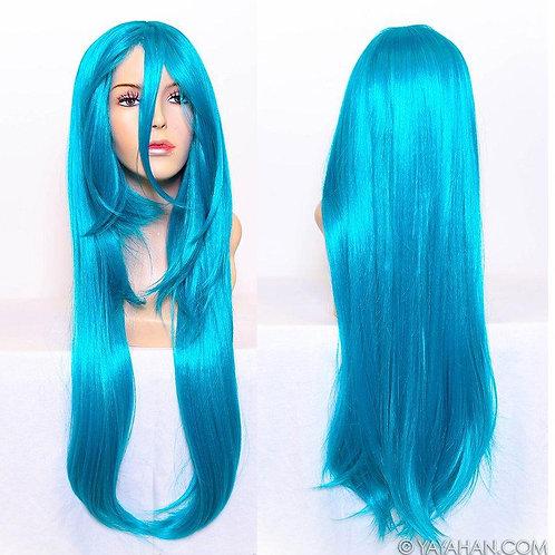 Teal Wig
