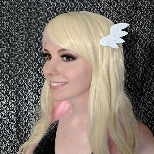 Mini Angel Wing Clips + Headband