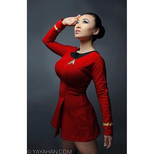 Signed Print - Star Trek Dress