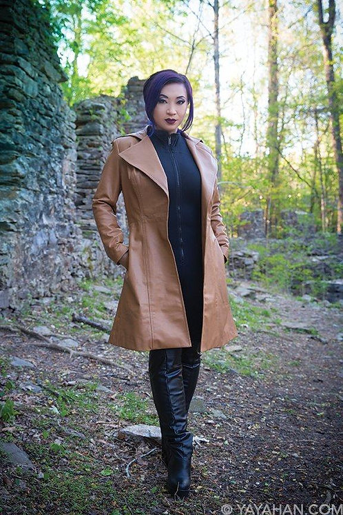 Women's Long Coat Pattern by Yaya Han (Autographed)