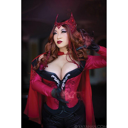 Signed Print - The New Scarlet Witch