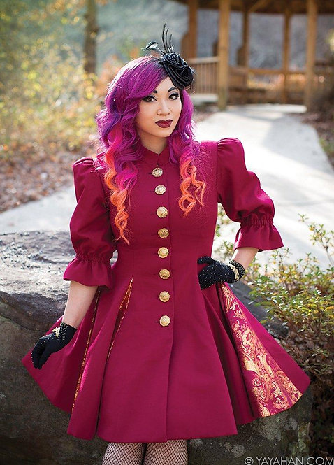 Fit and Flare Coat Pattern by Yaya Han (Autographed)