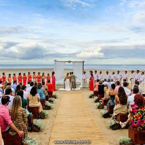 Hochzeit in Morro de Sao Paulo - Bahia