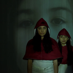 Installation Tender Young Creatures takes inspiration from Little Red Riding Hood