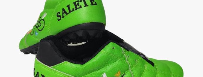 Sapatilha Bike Couro Personalizada