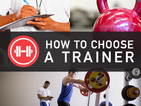 Selecting a Personal Trainer -