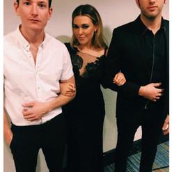 With Rachel Platten and Ryan Lallier