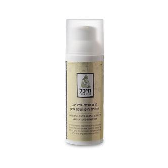 קרם פנים אנטי-אייג'ינג- מיכל סבון טבעי