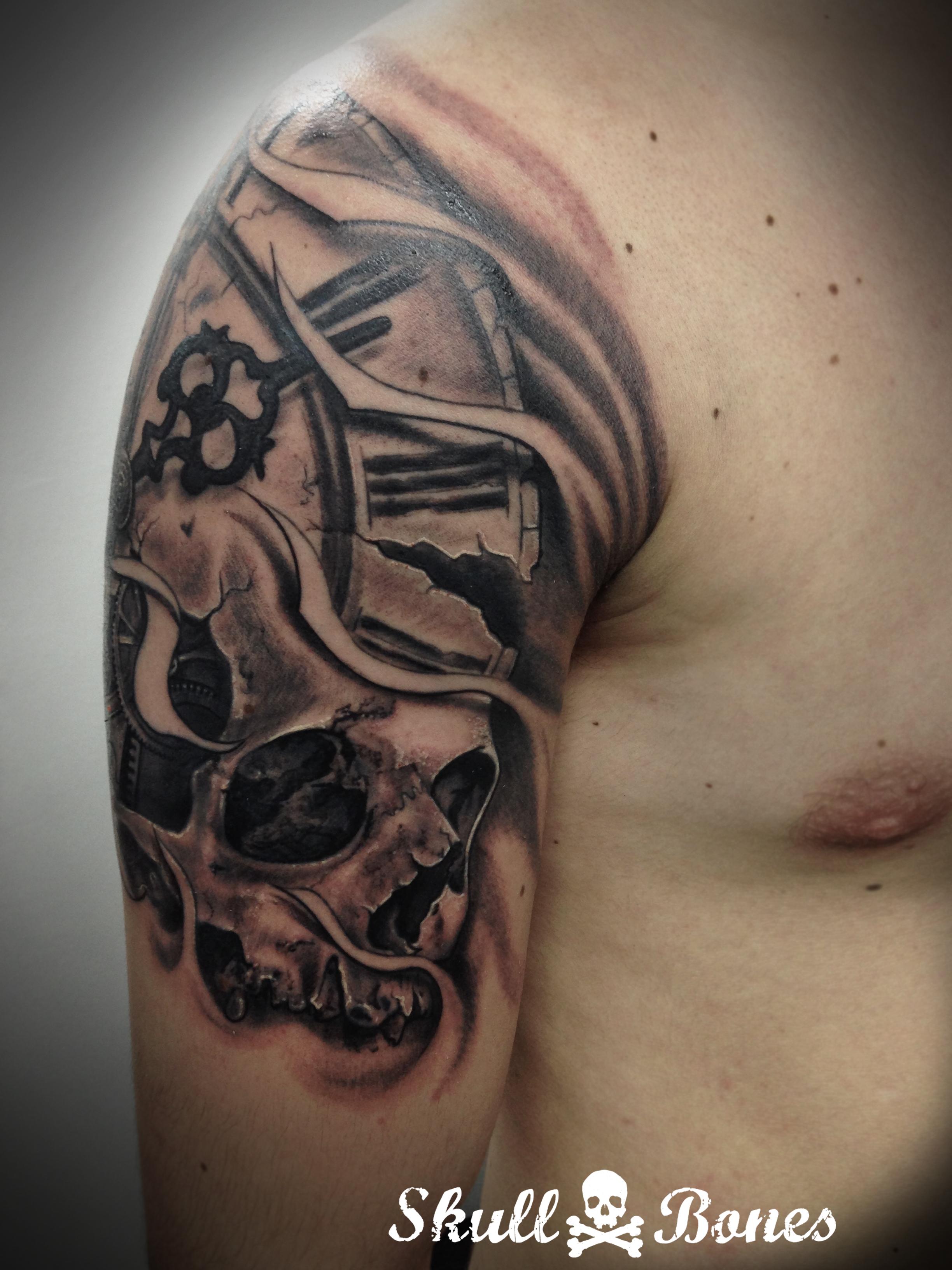 skullclock