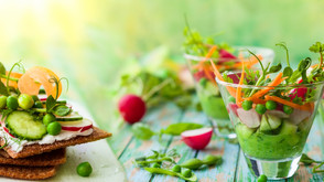 5 astuces pour accueillir les salades de printemps