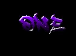 """ONE Team LLC """"artsy"""" logo"""