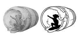 Barreled Logos