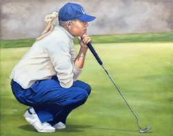 Alana Golfing