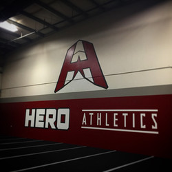 Hero Athletics Wall Mural