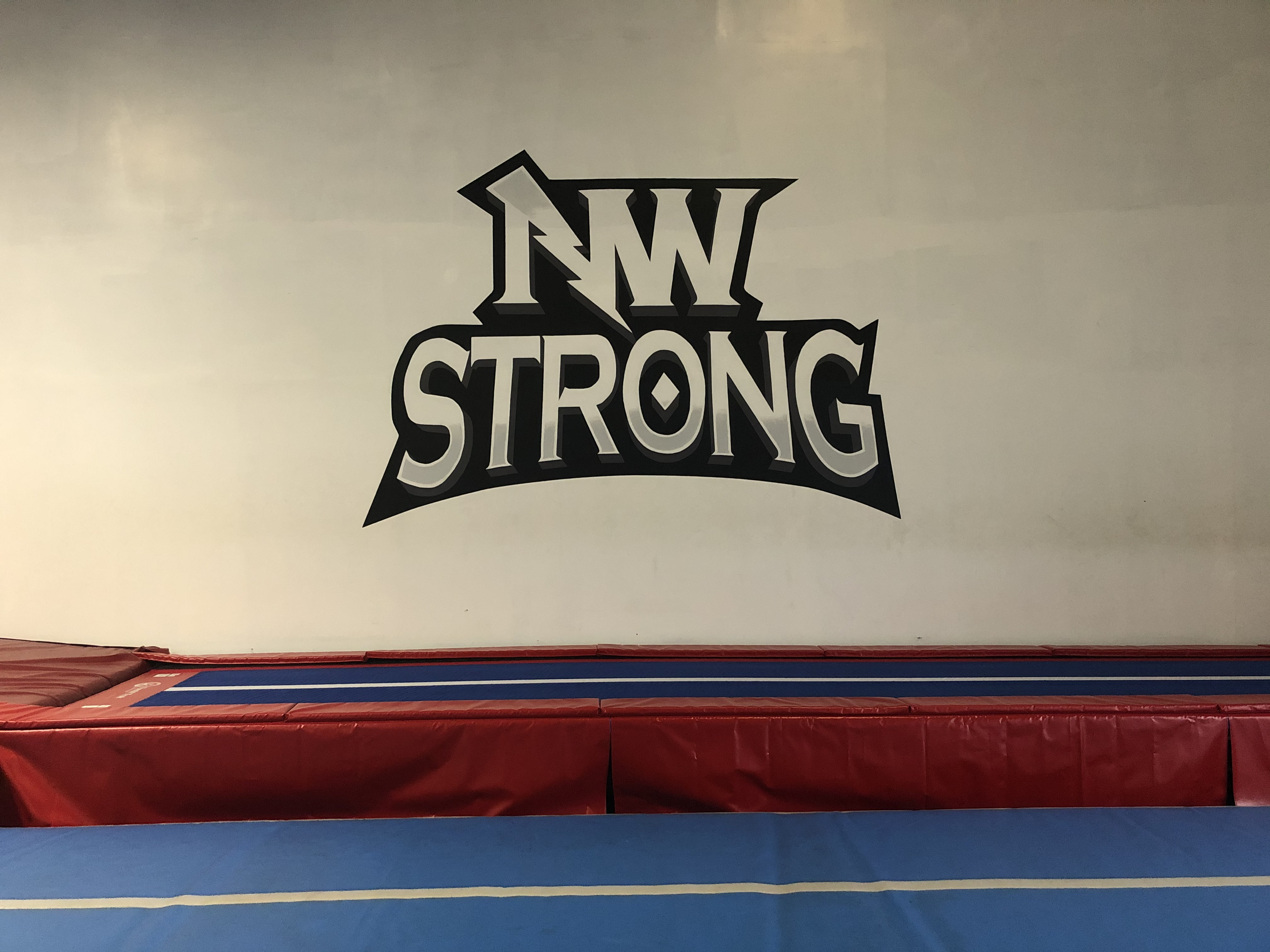 NW Strong mural